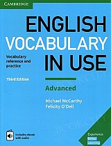 English Vocabulary in Use: Advanced. 3rd edition Book with answers and ebook with audio