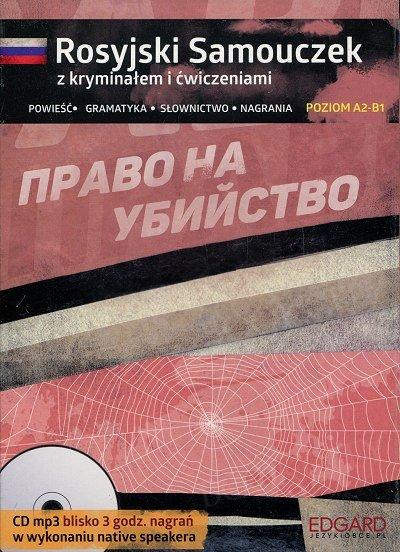 Rosyjski Samouczek z kryminałem i ćwiczeniami Książka+CDmp3