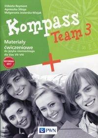 Kompass Team 3 Materiały ćwiczeniowe do języka niemieckiego dla klas 7 - 8