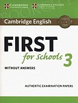 Cambridge English First for Schools 3 FCE (2018) Student's Book without Answers