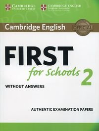 Cambridge English First for Schools 2 FCE (2016) Student's Book without answers