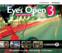Eyes Open 3 Class Audio CD