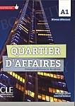 Quartier d'affaires Niveau A1 Podręcznik + DVD