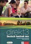 Direkt 3 Deutsch hautnah neu Podręcznik wieloletni z płytą CD Zakres rozszerzony