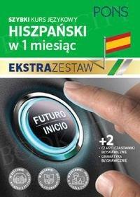 Szybki kurs Hiszpański w 1 miesiąc Ekstra Zestaw: Kurs + tablice: czasy i czasowniki, gramatyka