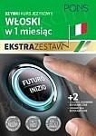 Szybki kurs Włoski w 1 miesiąc Ekstra Zestaw: Kurs + tablice: czasy i czasowniki, gramatyka