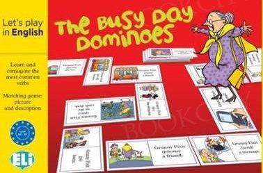 The Busy Day Dominoes Gra językowa z polską instrukcją i suplementem