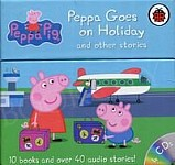 Peppa Box of Audio & Books Peppa Goes on Holiday and other stories