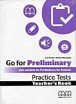Go For Preliminary Practice Tests książka nauczyciela
