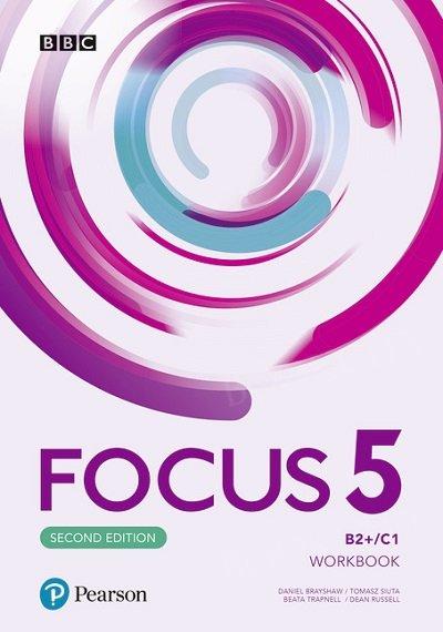 Focus 5 Second Edition Workbook + kod (Interactive Workbook)