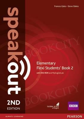 Speakout Elementary (2nd edition) Student's Book Flexi 2 with MyEnglishLab