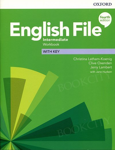 English File Intermediate (4th Edition) Workbook with Key