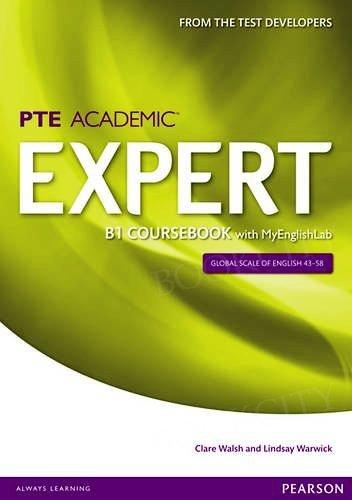 PTE Academic Expert B1 Coursebook with MyEnglishLab