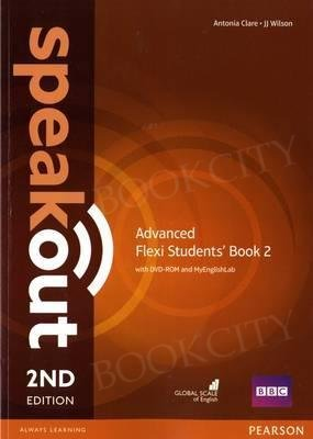 Speakout Advanced (2nd edition) Student's Book Flexi 2 with MyEnglishLab