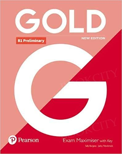 Gold B1 Preliminary New Edition Maximiser with key
