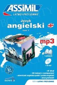 Język angielski łatwo i przyjemnie Tom 1 B1 MP3 Poziom B1 Książka