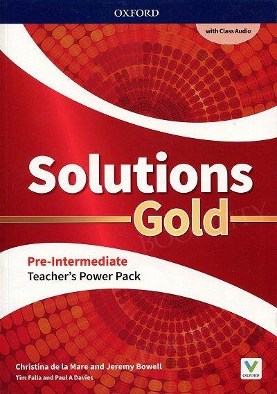 Solutions Gold Pre-Intermediate Teacher's Guide PACK