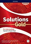 Solutions Gold Pre-Intermediate Teacher's Guide PACK