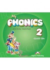 My Phonics 2 Short Vowels Class Audio CDs (set of 2)
