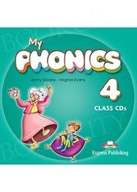 My Phonics 4 Consonant Blends Audio CDs (set of 2)