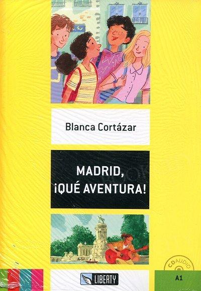 Madrid Que aventura! Książka+CD