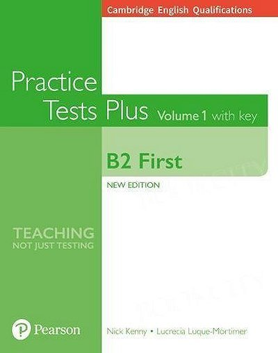Practice Test Plus B2 First 1 Student's Book with key