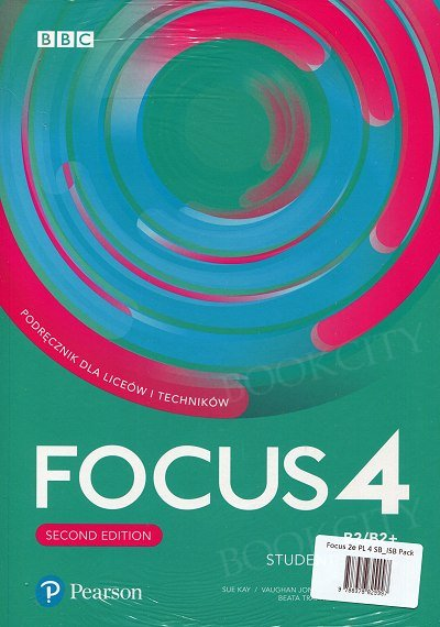 Focus 4 Second Edition Student's Book + kod (Digital Resources + Interactive eBook)