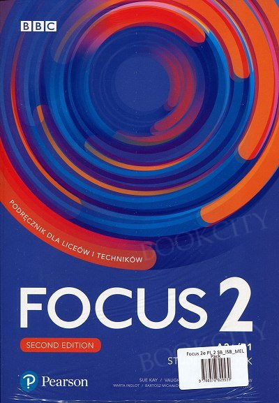 Focus 2 Second Edition Student's Book + kod (Digital Resources + Interactive eBook + MyEnglishLab)