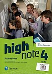 High Note 4 Student's Book + kod (Digital Resources + Interactive eBook)