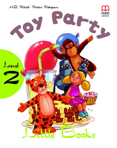Toy party Book with CD