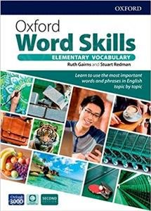 Oxford Word Skills 2 edition Elementary Student's book with app Pack