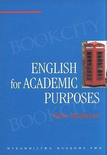 English for Academic Purposes.