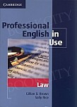 Professional English in Use: Law Edition with answers