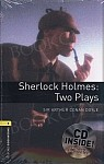 Sherlock Holmes Two Plays Book with Audio CD