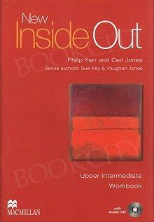 New Inside Out Upper-Intermediate Workbook plus Audio CD (no key)