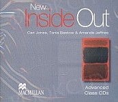 New Inside Out Advanced Audio CDs (3)