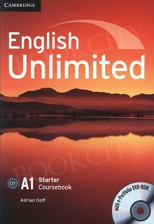English Unlimited A1 Starter Coursebook with e-Portfolio