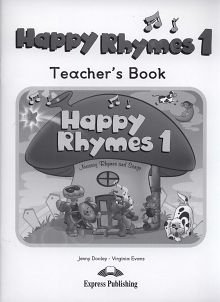Happy Rhymes 1 Teacher's Book Pack