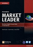 Market Leader 3rd Edition Intermediate Coursebook plus DVD-ROM plus MyEnglishLab (z kodem)