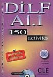 DILF 200 activites A1 livre + CD gratis