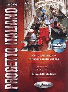 Nuovo Progetto Italiano 2 Podręcznik + DVDRom