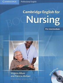 Cambridge English for Nursing Pre-intermediate Student's Book with Audio CDs