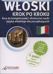 Włoski Krok po kroku 2 x Książka + 5 x CD Audio + MP3 + program multimedialny
