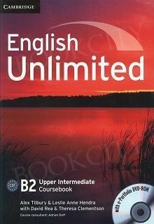 English Unlimited B2 Upper Intermediate Coursebook with e-Portfolio