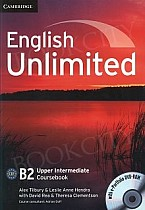 English Unlimited B2 Upper Intermediate Coursebook with e-Portfolio
