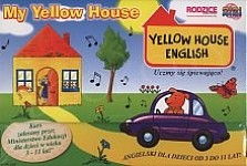 My Yellow House. Kurs języka angielskiego. Kuferek 5 książeczek + 5 płyt