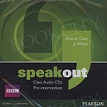 Speakout Pre-Intermediate B1 Class Audio CD