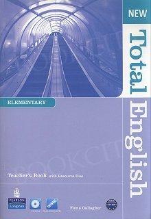 New Total English Elementary Teacher's Book plus Teacher's Resource Disc