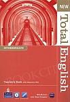 New Total English Intermediate książka nauczyciela
