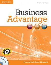 Business Advantage Advanced Personal Study Book+CD